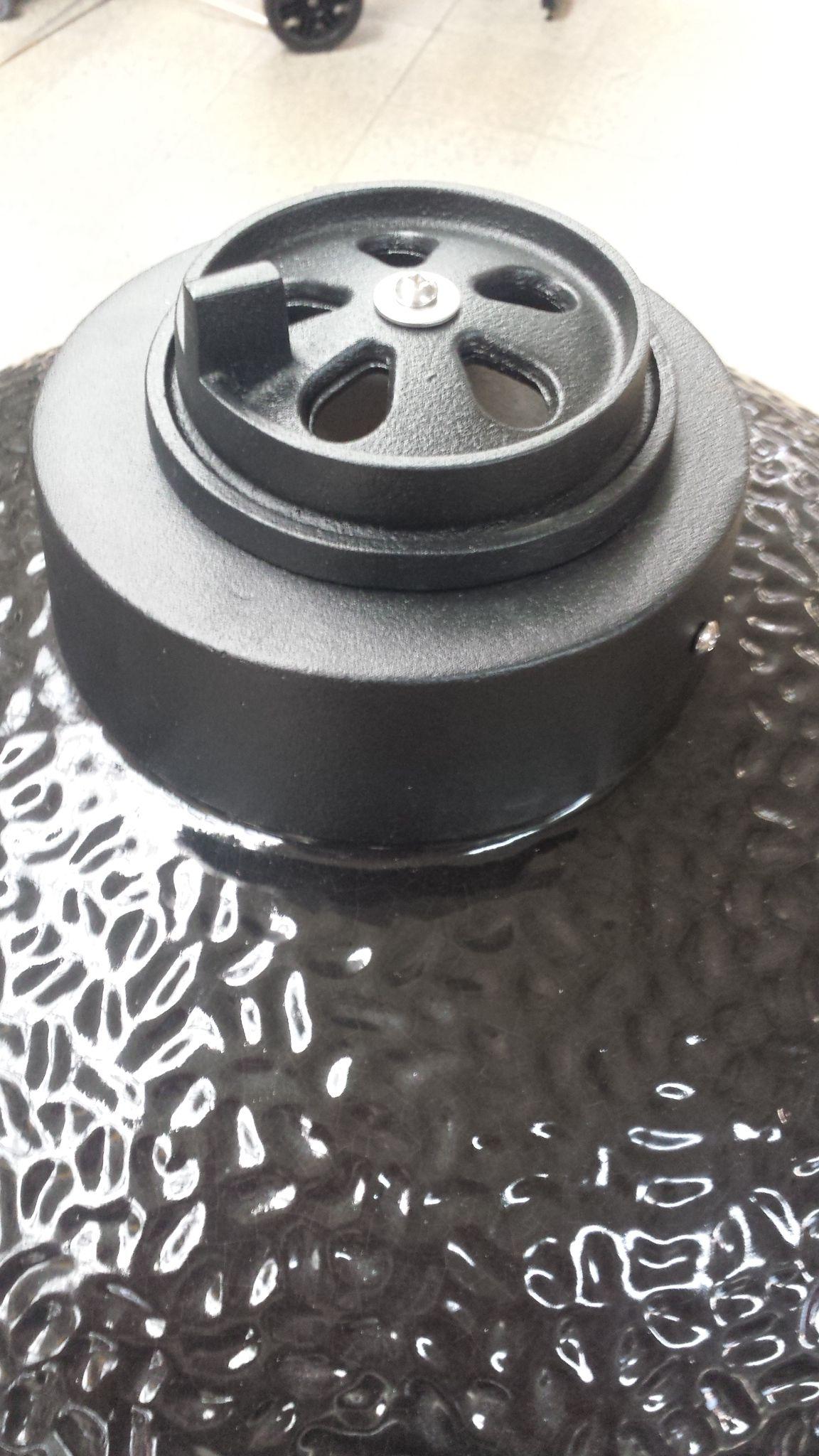 "Kamado-Kitchen Keramikgrill 21,8"" Ø56cm schwarz Bild 10"