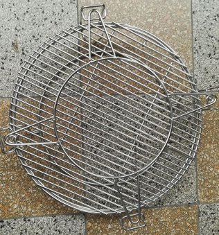 "Kamado-Kitchen Keramikgrill 21,8"" Ø56cm schwarz Bild 5"