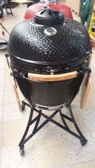 "Kamado-Kitchen Keramikgrill 24,8"" Ø63cm schwarz Bild 1"
