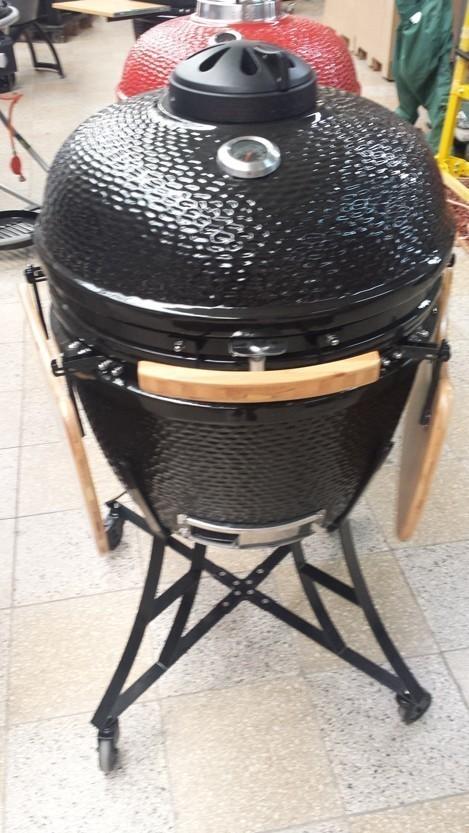 "Kamado-Kitchen Keramikgrill 25"" Ø63cm schwarz Bild 1"