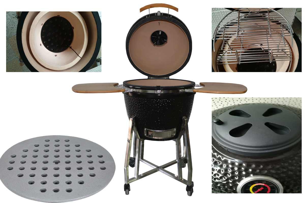 Outdoor Küche Kamado Joe : Outdoor küche keramikgrill. impuls küche gießen abflußsieb für