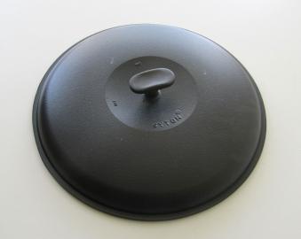 Deckel für Syton Gusseisen Grillpfanne Ø 34cm Bild 1
