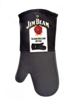 Jim Beam Silikon Handschuh / Grillhandschuh JB0205