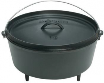 Lodge Logic Camp Dutch Oven / Eisen Topf Ø 36 cm 9,5Liter Bild 1