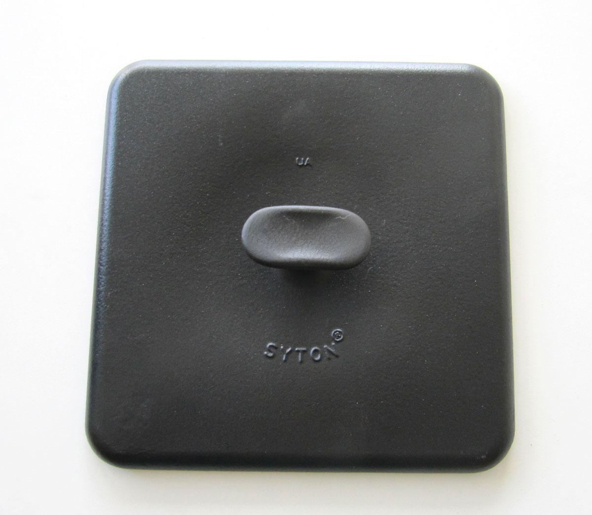 Presse für Syton Gusseisen Grillpfanne 28x28cm Bild 1