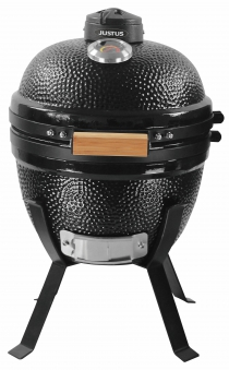 Holzkohlegrill / Keramikgrill Justus Black J'Egg S Grillfläche Ø31cm Bild 1