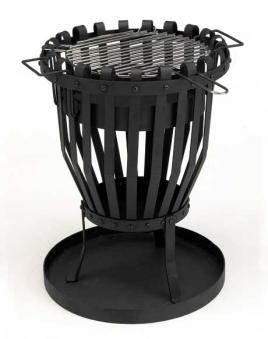 landmann feuerkorb feuerstelle lagerfeuer mit grill 36cm 11768 bei. Black Bedroom Furniture Sets. Home Design Ideas