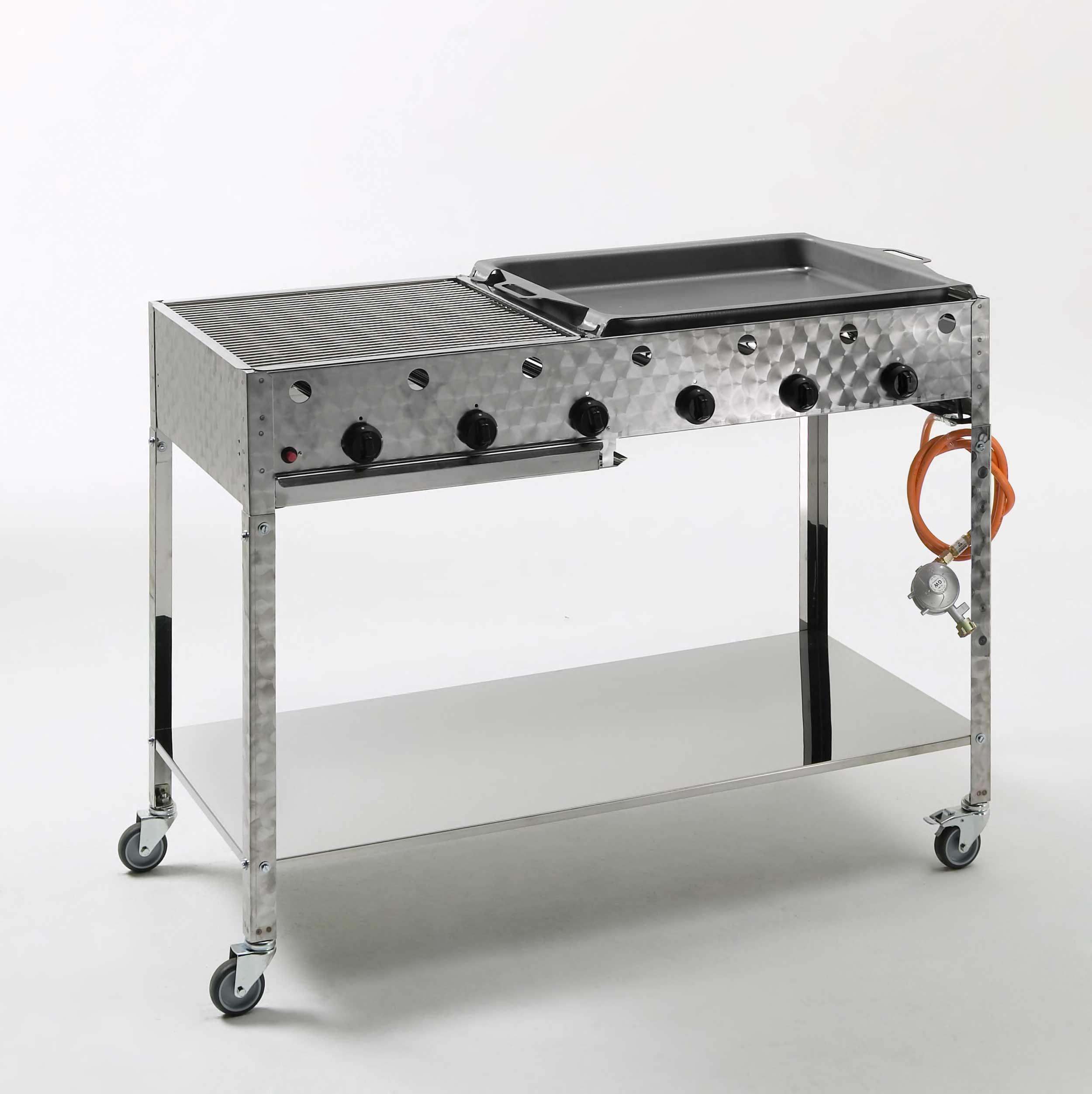 landmann gasbr ter und grillrost 6 flammig 6x4kw 00446m. Black Bedroom Furniture Sets. Home Design Ideas