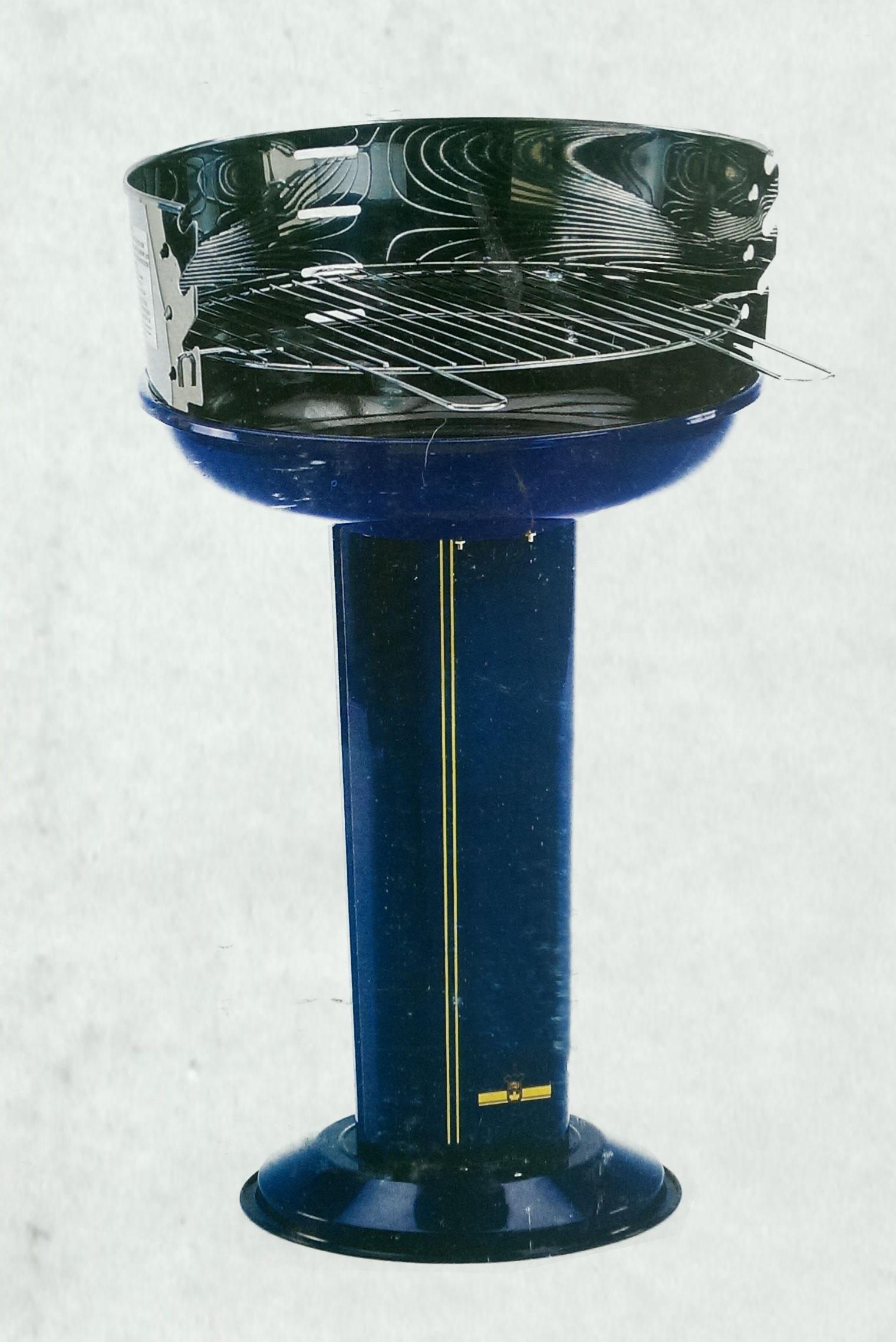 Landmann Säulengrill BlueLine Grillfläche Ø43cm Bild 1