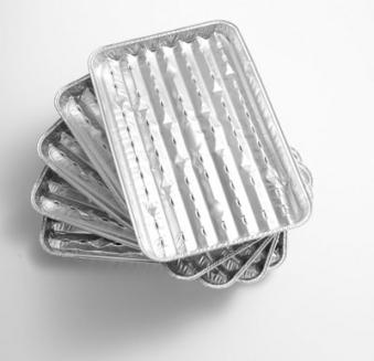 alu grillschale grillpfanne 5er pack 34 x 23 cm landmann. Black Bedroom Furniture Sets. Home Design Ideas