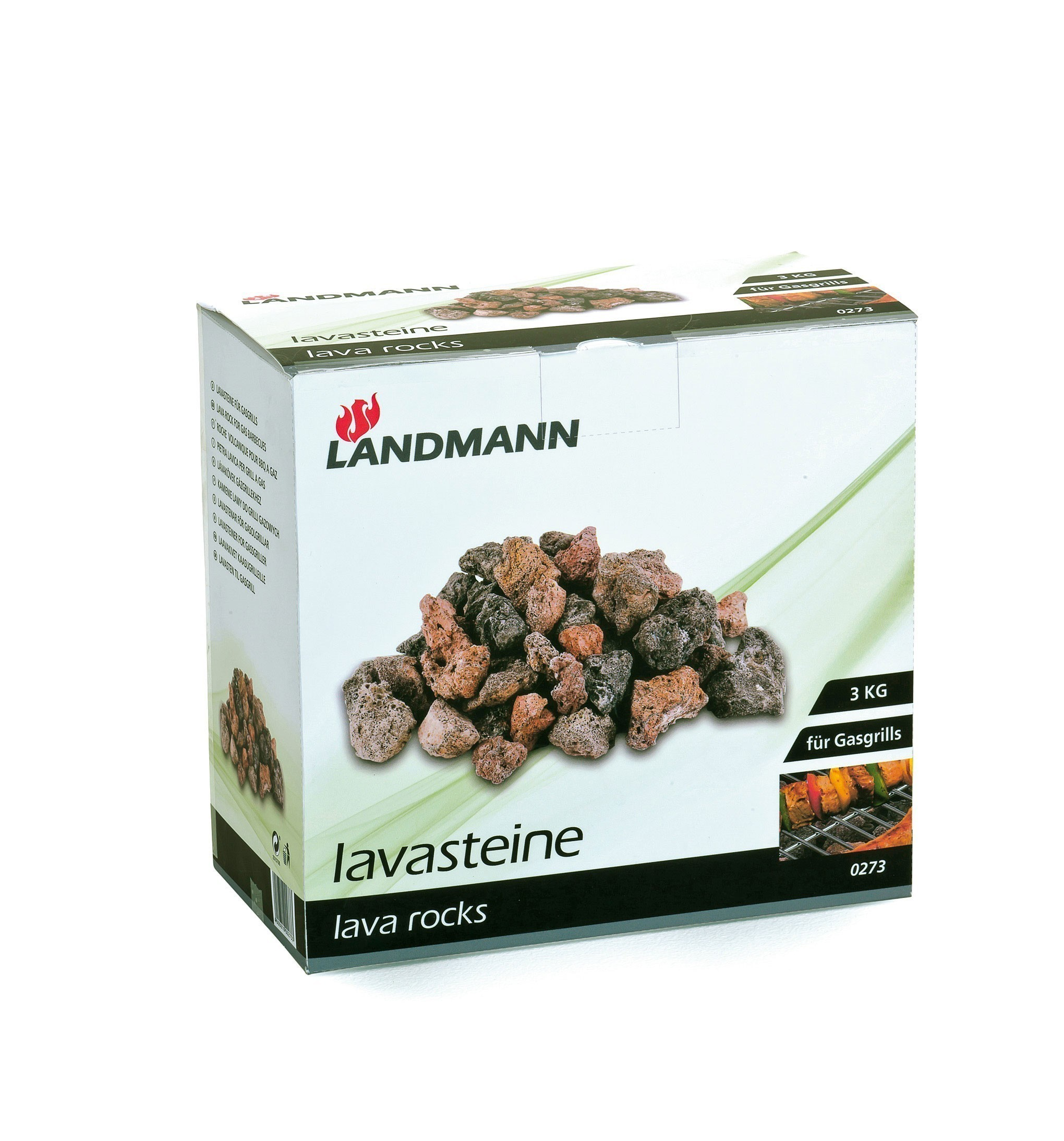 landmann lavastein f r gasgrill 3 kg 0273 bei. Black Bedroom Furniture Sets. Home Design Ideas