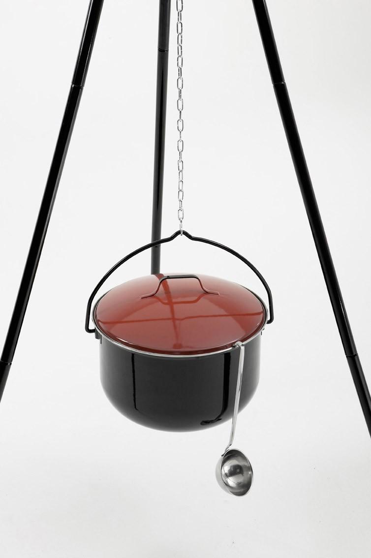 landmann topf mit deckel f r schwenkgrill 14 liter 0162. Black Bedroom Furniture Sets. Home Design Ideas