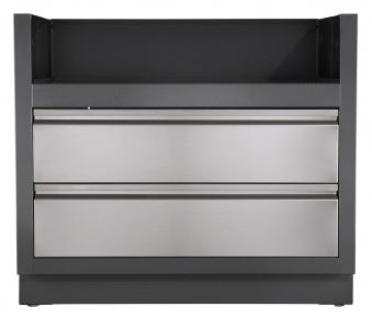 au enk che einbau grill unterschrank napoleon oasis f r 665 bei. Black Bedroom Furniture Sets. Home Design Ideas