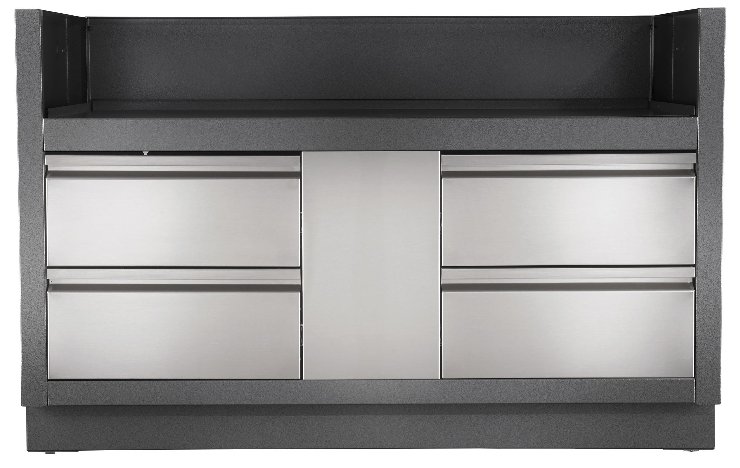 au enk che einbau grill unterschrank napoleon oasis f r 825 bei. Black Bedroom Furniture Sets. Home Design Ideas