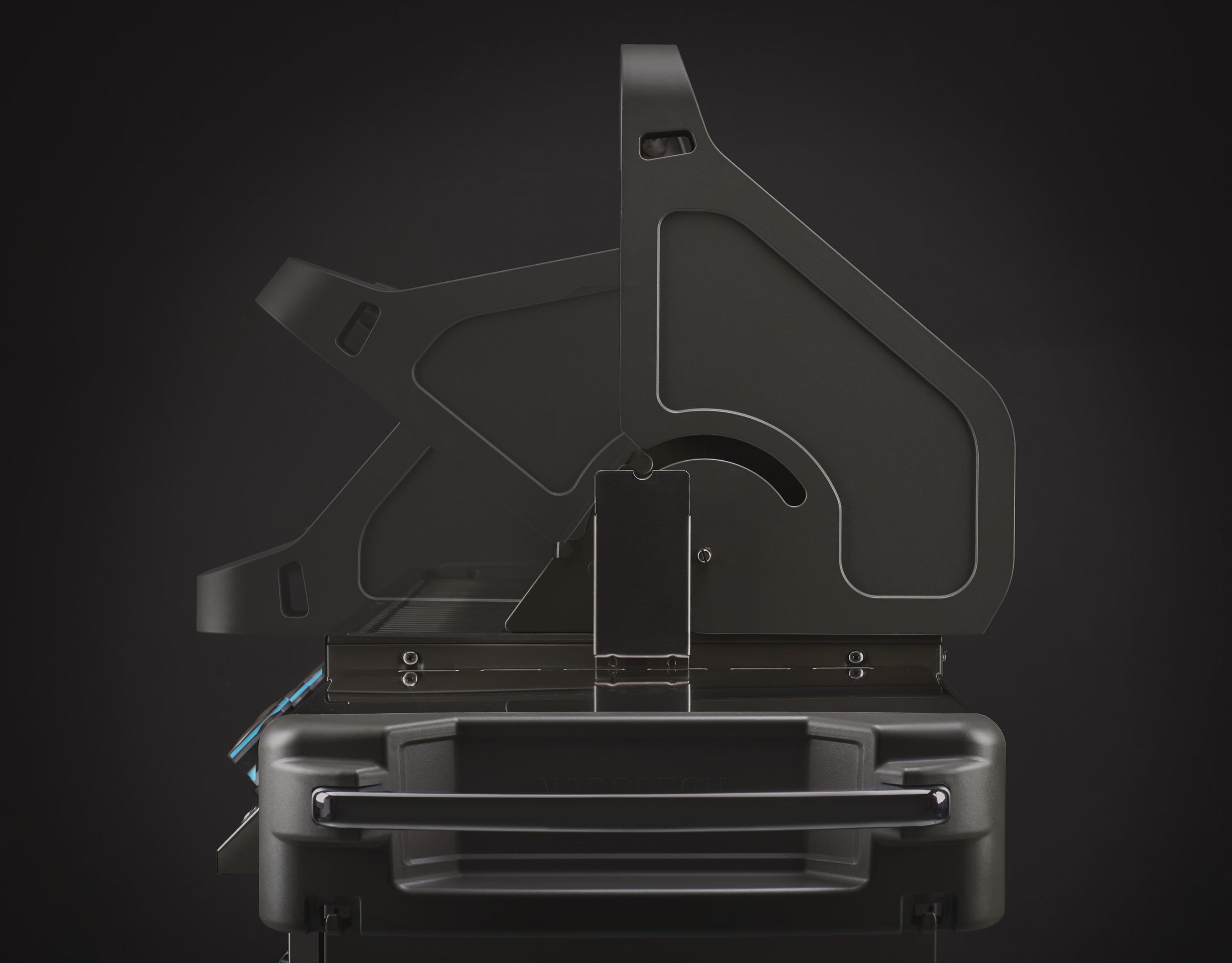 Gasgrill / Grillwagen Napoleon Prestige 500 Charcoal Grau Bild 6