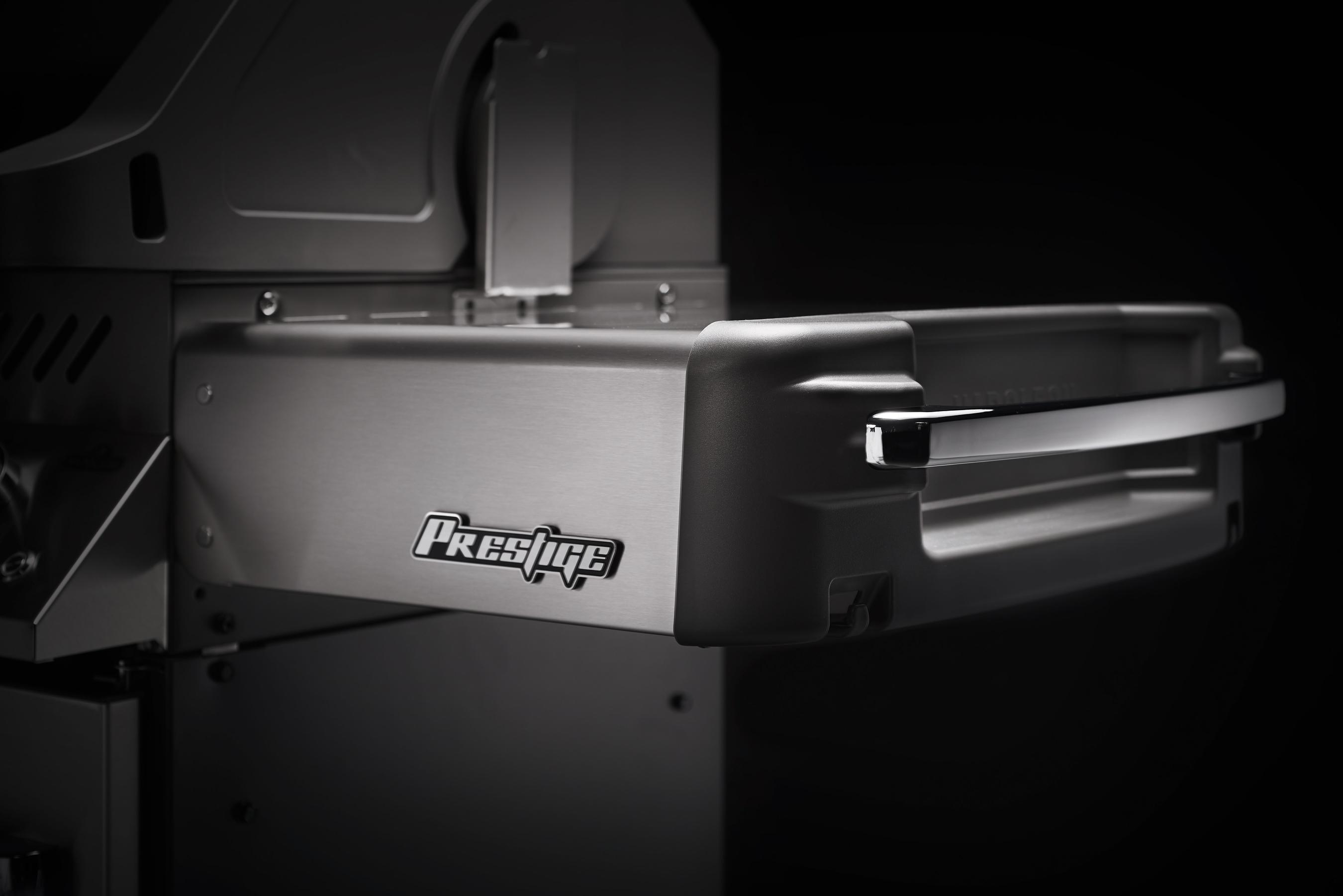 Gasgrill / Grillwagen Napoleon Prestige 665 Charcoal grau Bild 8
