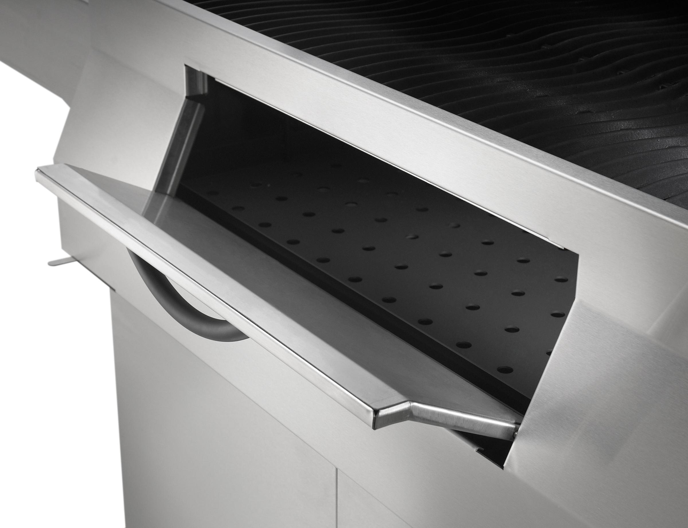 Holzkohlegrill / Grill Napoleon Charcoal Professional PRO605 Edelstahl Bild 6