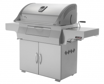 Holzkohlegrill / Grill Napoleon Charcoal Professional PRO605 Edelstahl Bild 2