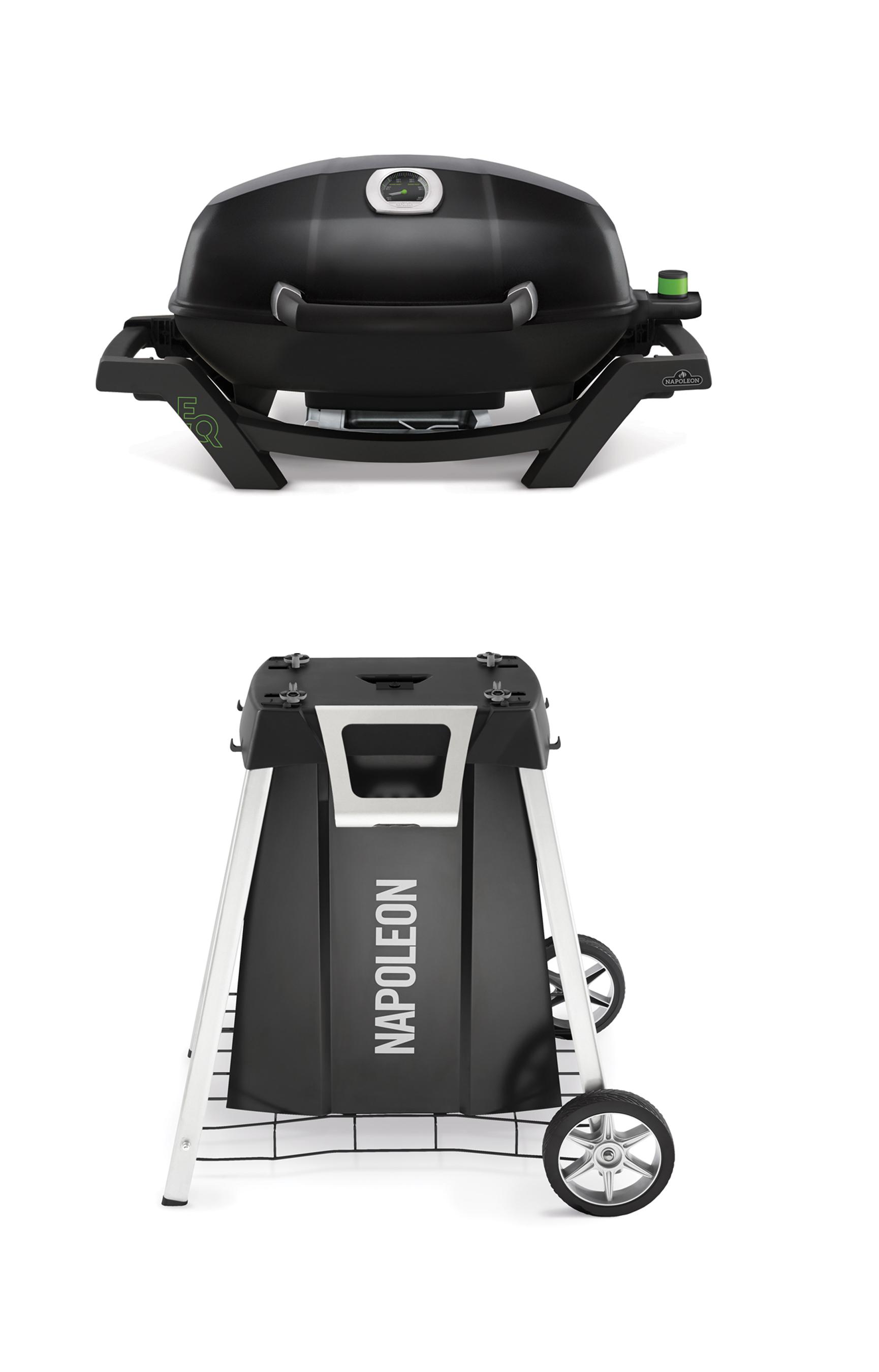 Napoleon Elektrogrill / Standgrill PRO285E-PAKET mit TRAVELQ Wagen Bild 1