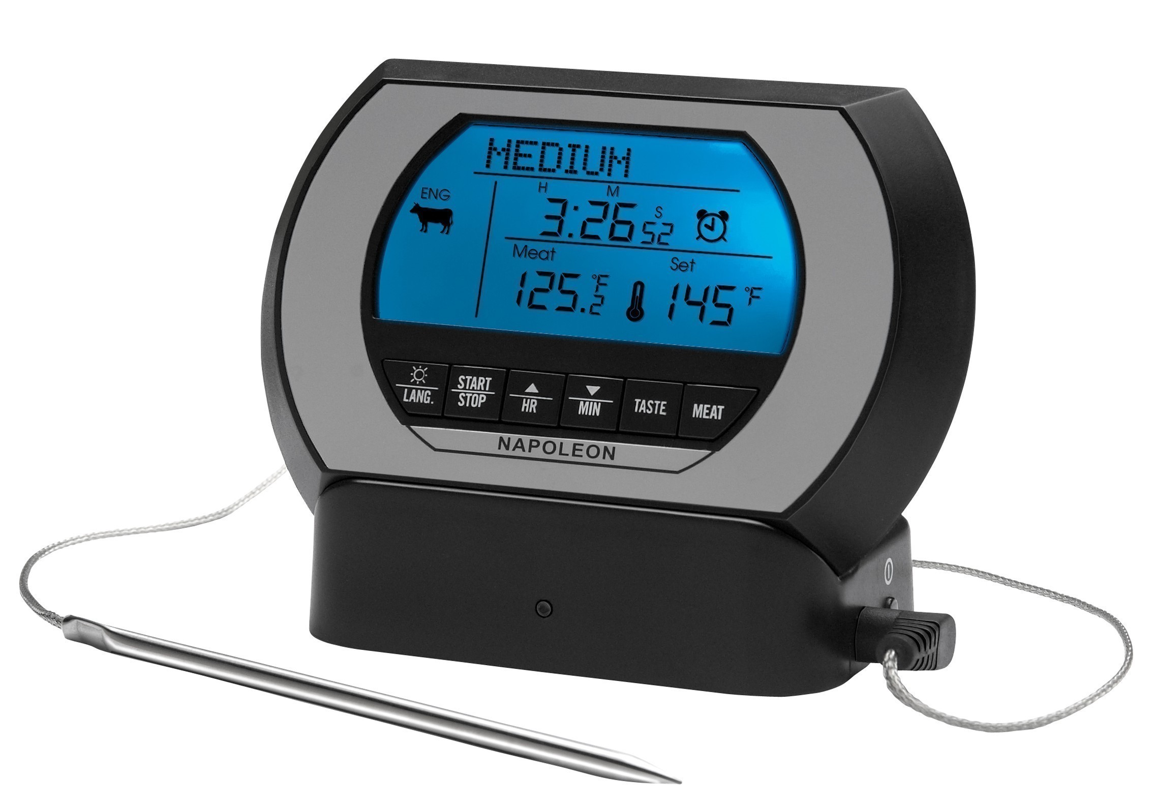 Funk Thermometer Grill : grill thermometer bratenthermometer napoleon pro funk bei ~ Watch28wear.com Haus und Dekorationen
