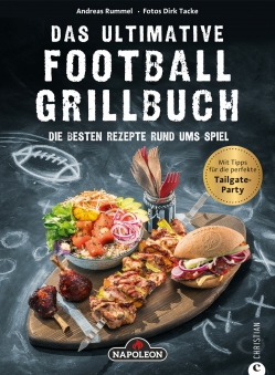 "Napoleon Grillbuch ""Das ultimative Football-Grillbuch"" Bild 1"