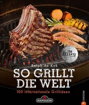 """Napoleon Grillbuch """"So grillt die Welt"""" Bild 1"""
