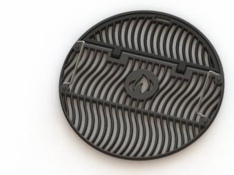 Napoleon Gusseisen-Grillrost für Ø 47cm Kugelgrills Bild 1