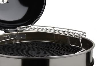 warmhalterost napolen warming rack edelstahl f r holzkohlegrill bei. Black Bedroom Furniture Sets. Home Design Ideas