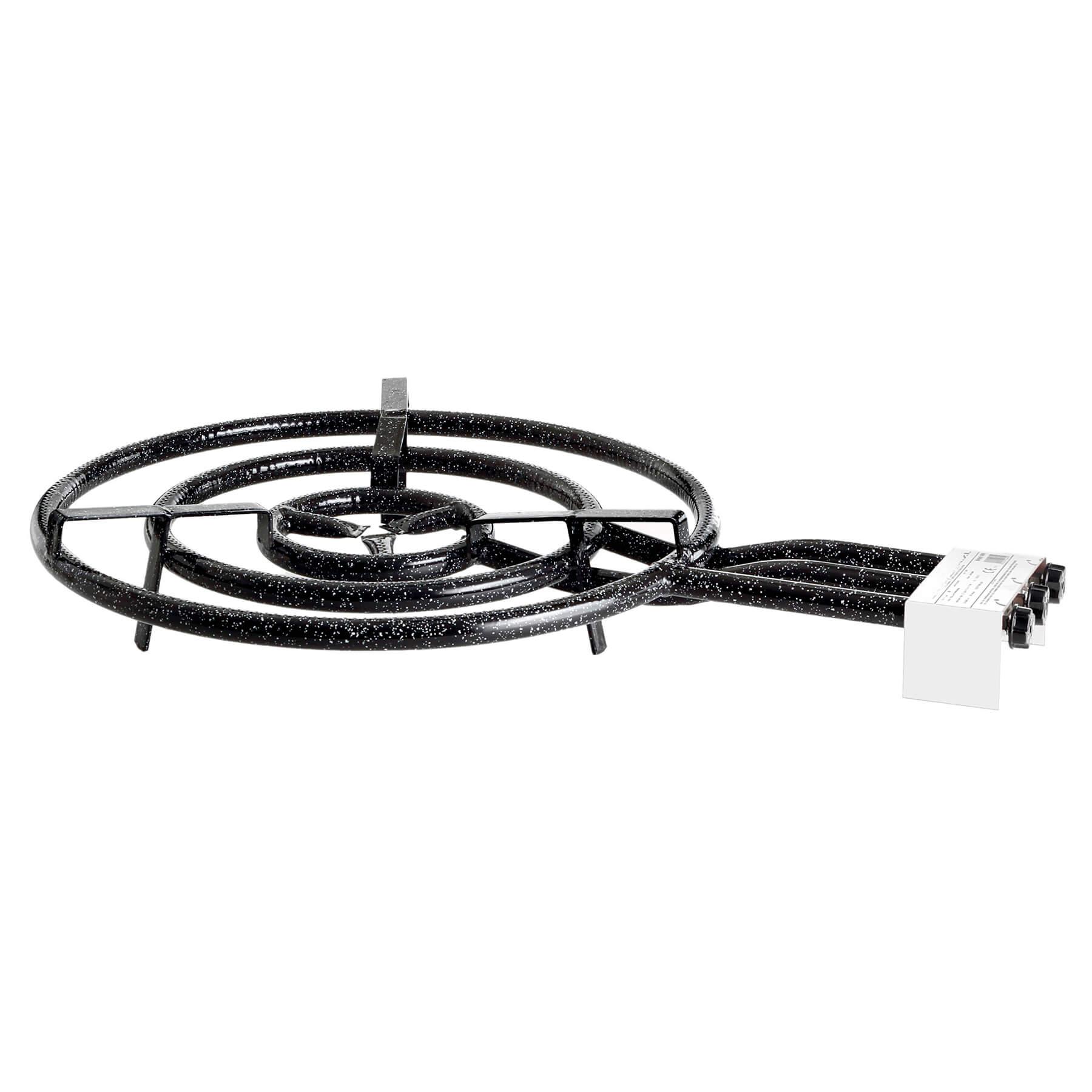 3-Ring-Gasbrenner, Ø 60 cm, 21,0 kW, 30 mbar Bild 1