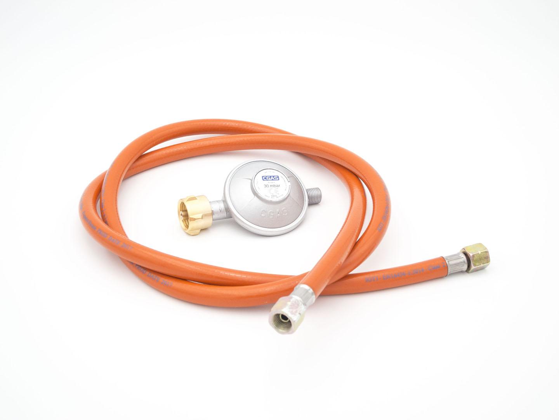 Gasdruckminderer mit Gasschlauch 30 mbar (Set) Bild 8