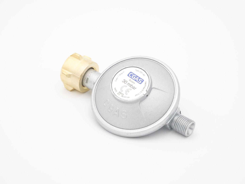 Gasdruckminderer mit Gasschlauch 30 mbar (Set) Bild 9