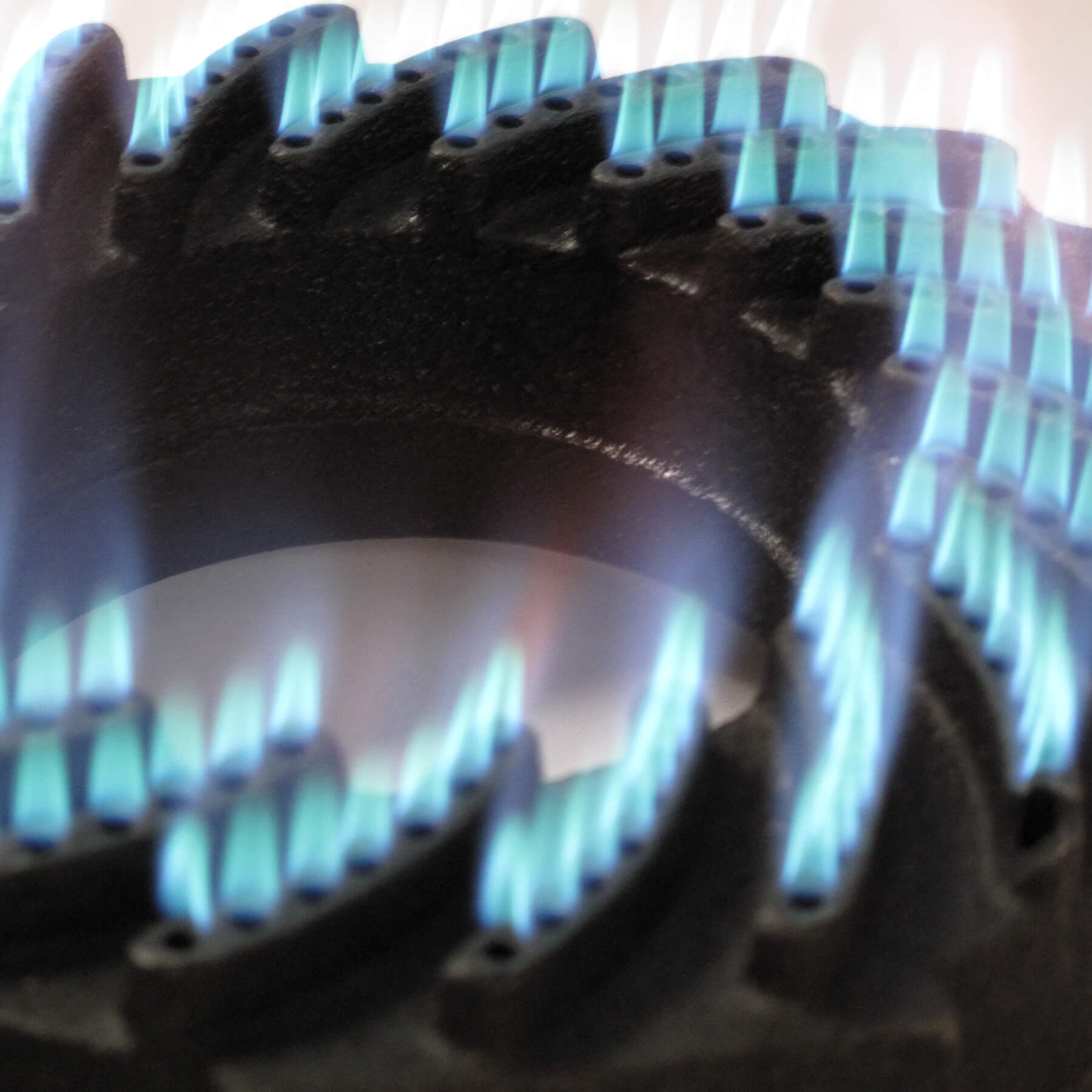Hockerkocher-Set mit Gusseisengrillschale Ø 45 cm Bild 4