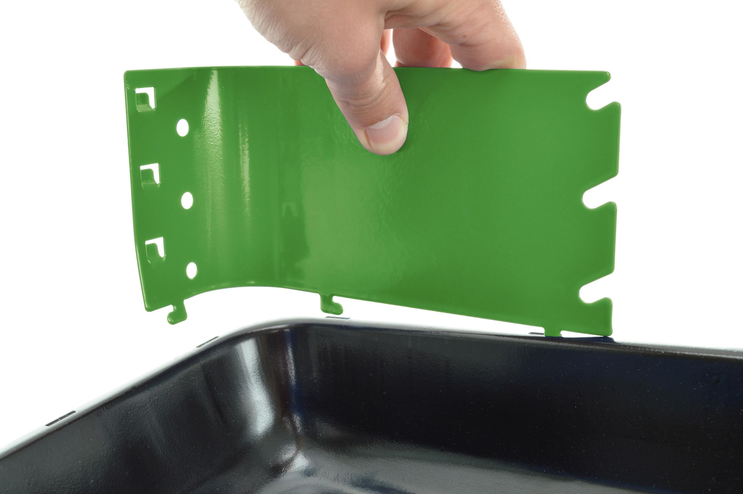 GRILL CHEF Holzkohlegrill PortaGo grün 33x26cm 11525 Bild 3