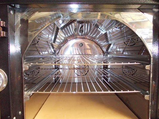 Brotbackofen, Holzbackofen, Flammkuchenofen, Pizzaofen XQZ Bild 2