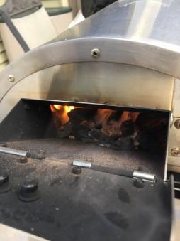DaDa Edelstahl Outdoor Pizzaofen mit Pizzastein, Flammkuchenofen Bild 4
