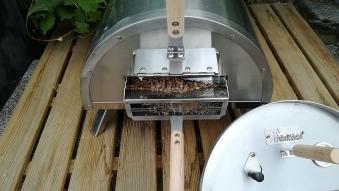 Drehteller Pellet Pizzaofen / Flammkuchenofen / Outdoor Ofen Bild 3