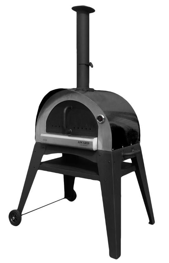 Holzbackofen / Pizzaofen / Brotbackofen Ciao anthrazit Bild 1