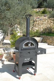 Holzbackofen und Gartengrill Vulcano Premium Bild 2