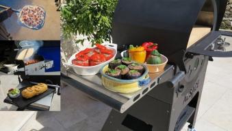 Holzbackofen und Gartengrill Vulcano Premium Bild 3