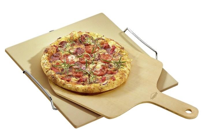Holzschieber / Pizzaschaufel Holz 45 x 29 cm Bild 1