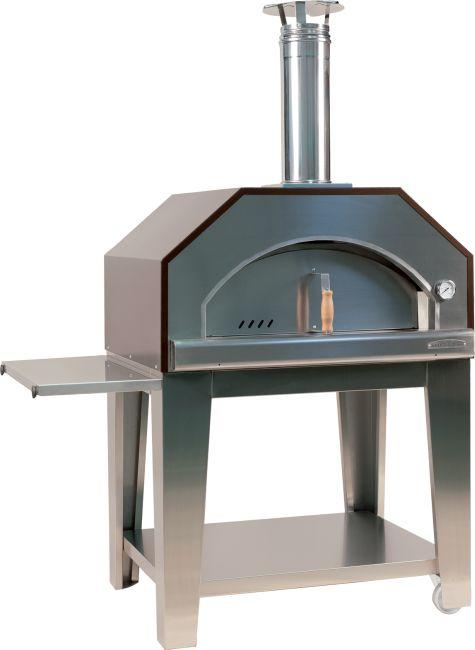 Muster Brotbackofen Pizzaofen Holzbackofen Forno Chef Inox Bild 1
