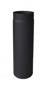Ofenrohr / Rauchrohr Senotherm schwarz Ø120 mm Länge 1000 mm Bild 2