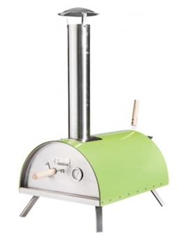 Pellet-Pizzaofen, Flammkuchenofen DaDa I grün Bild 1