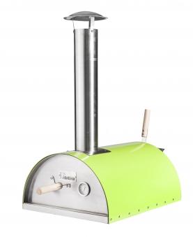 Pellet-Pizzaofen, Flammkuchenofen DaDa II grün Bild 1