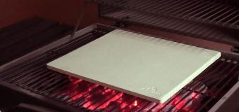 Pizza-Stein für Backofen - Pizza-Ofen - Flammkuchen-Ofen