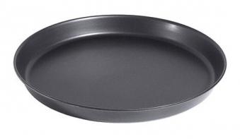 Pizzablech rund Ø 22 cm mit gebördeltem Rand Bild 1