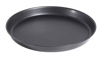 Pizzablech rund Ø 24 cm mit gebördeltem Rand Bild 1