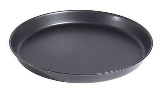 Pizzablech rund Ø 28 cm mit gebördeltem Rand Bild 1