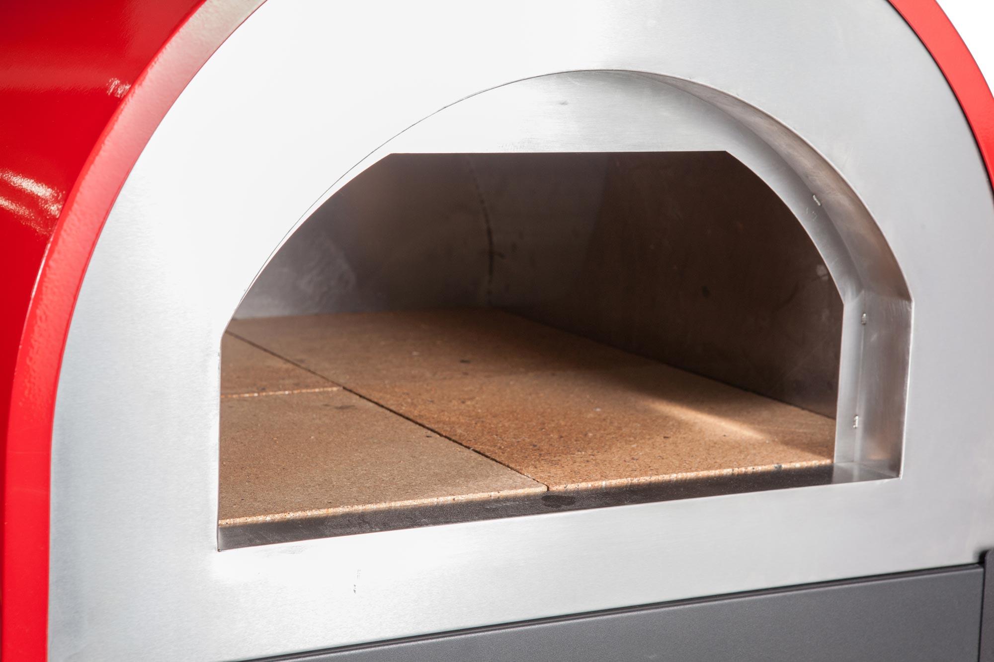 Pizzaofen / Brotbackofen / Flammkuchenofen D6055 Napoli mit Gestell Bild 4