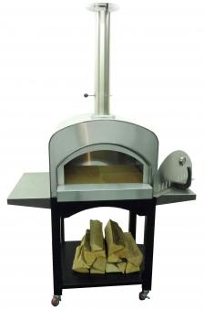 Pizzaofen / Brotbackofen / Flammkuchenofen D6457 Alcamo mit Gestell Bild 2